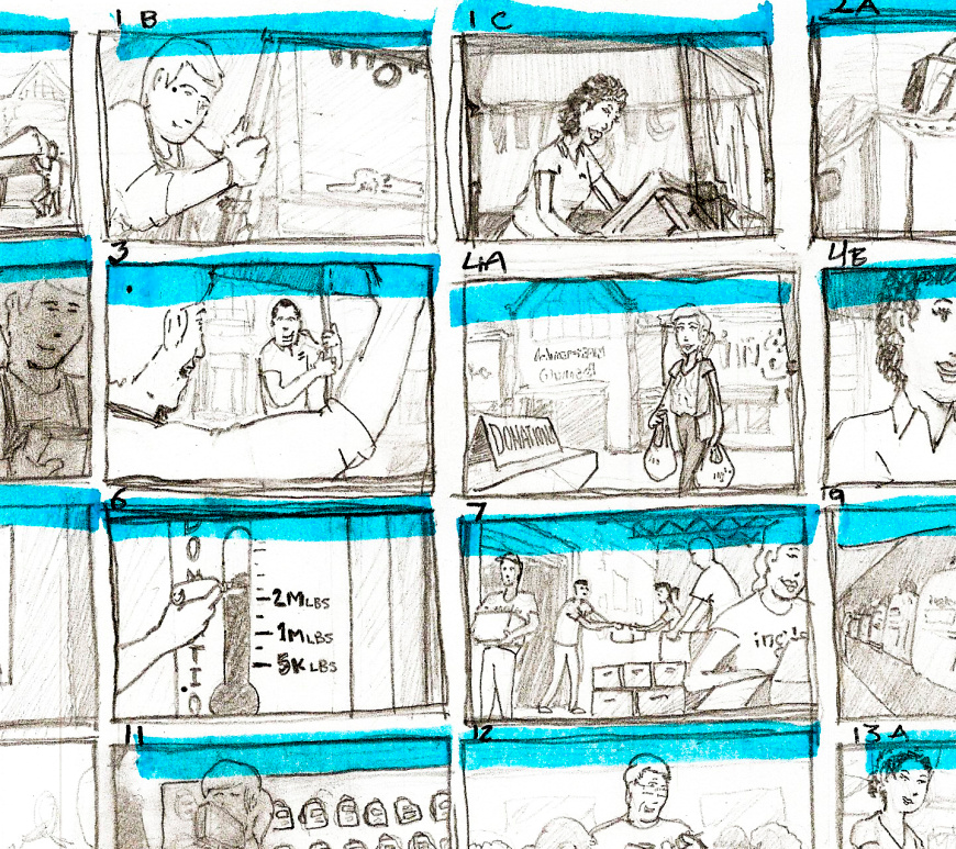 Storyboarding for indie filmmaking